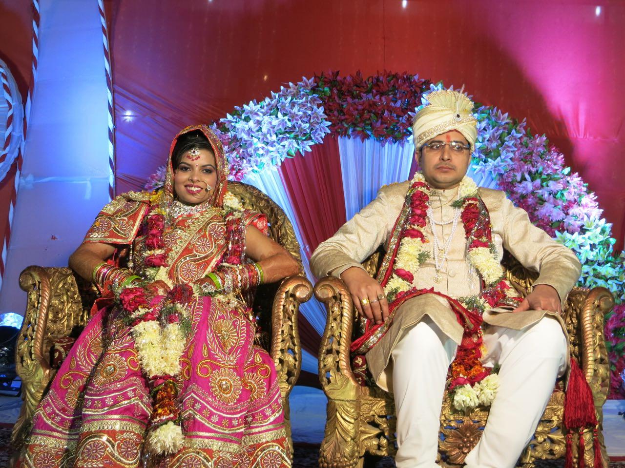 Opfern, Schmausen, Feiern: Eine Indische Hochzeit