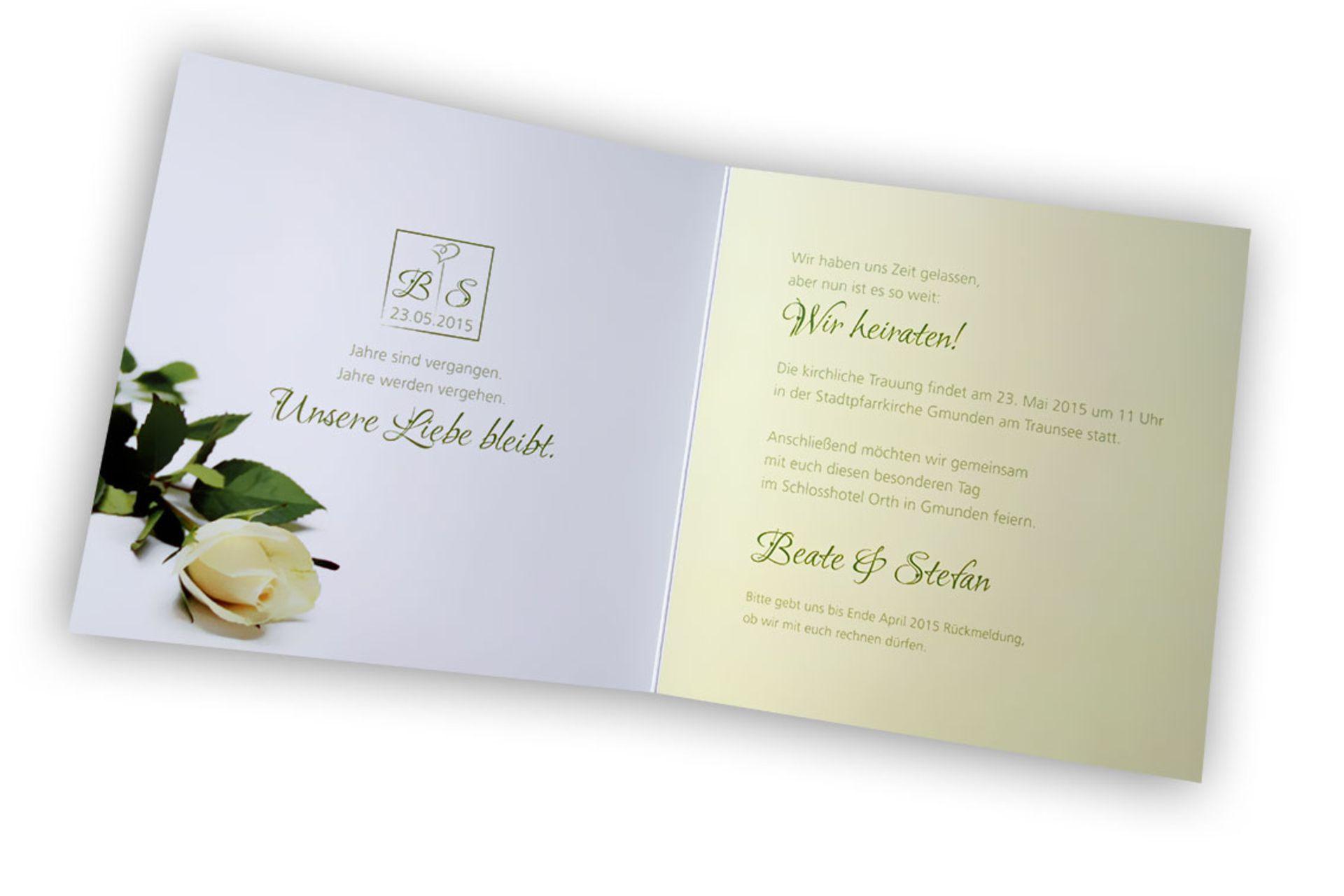 Organisation Rund Um Die Hochzeit - Texte Für Informelles