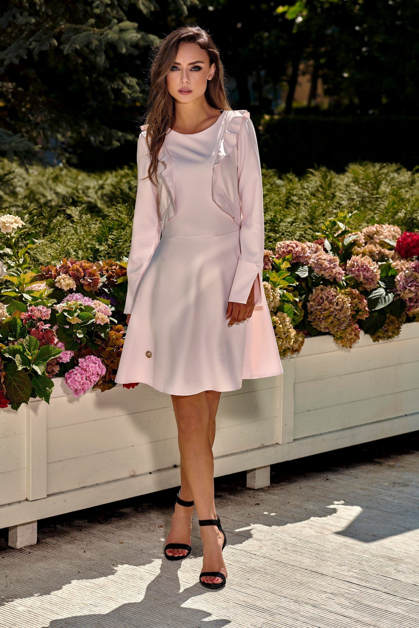 Otto Lemoniade Dress With Long Sleeves Product Page = Https