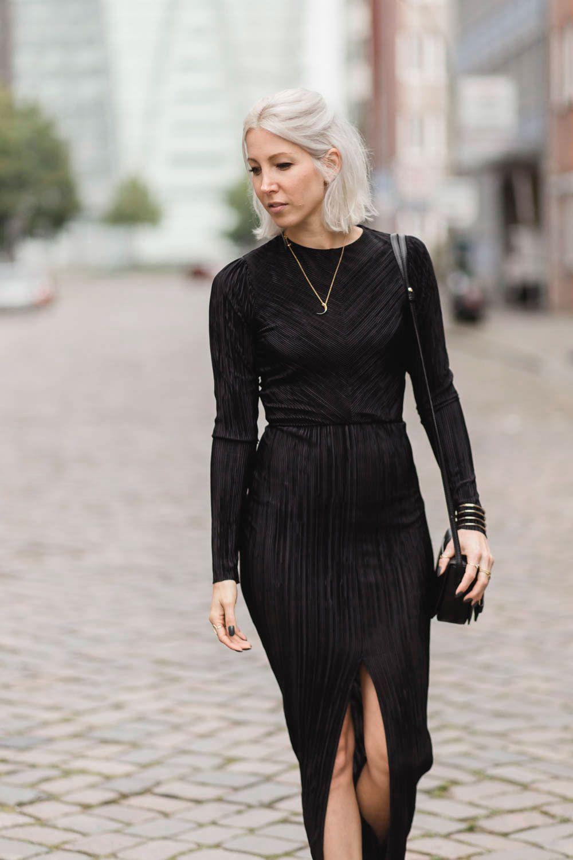 Outfit-Post: Plissee | Zara Kleider, Kleider Und Modische