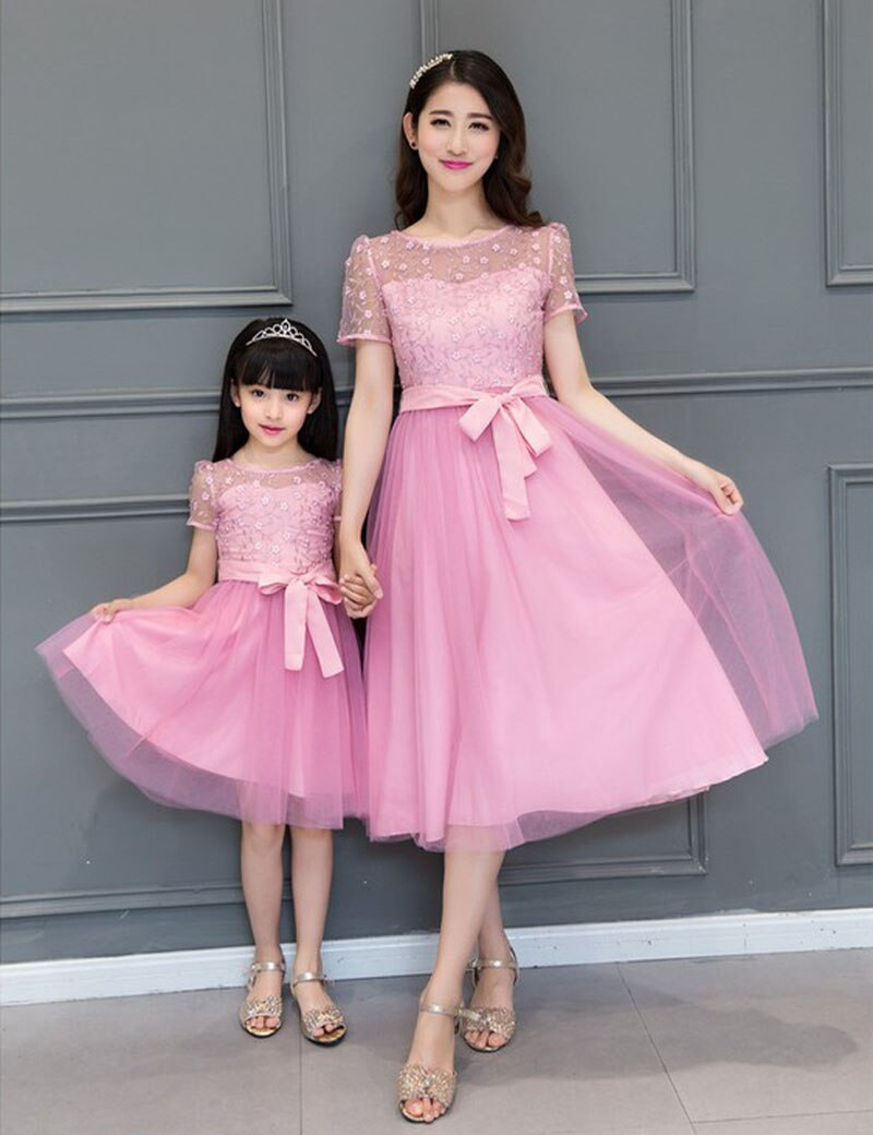 Passenden Mutter Tochter Hochzeit Kleid 2017 Mutter Tochter
