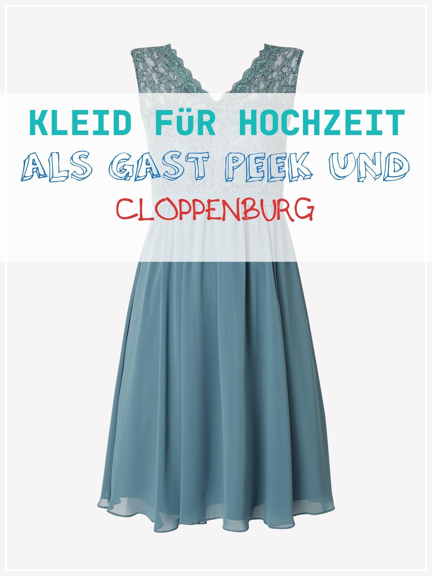 Perfect 15 Kleid Für Hochzeit Als Gast Peek Und Cloppenburg