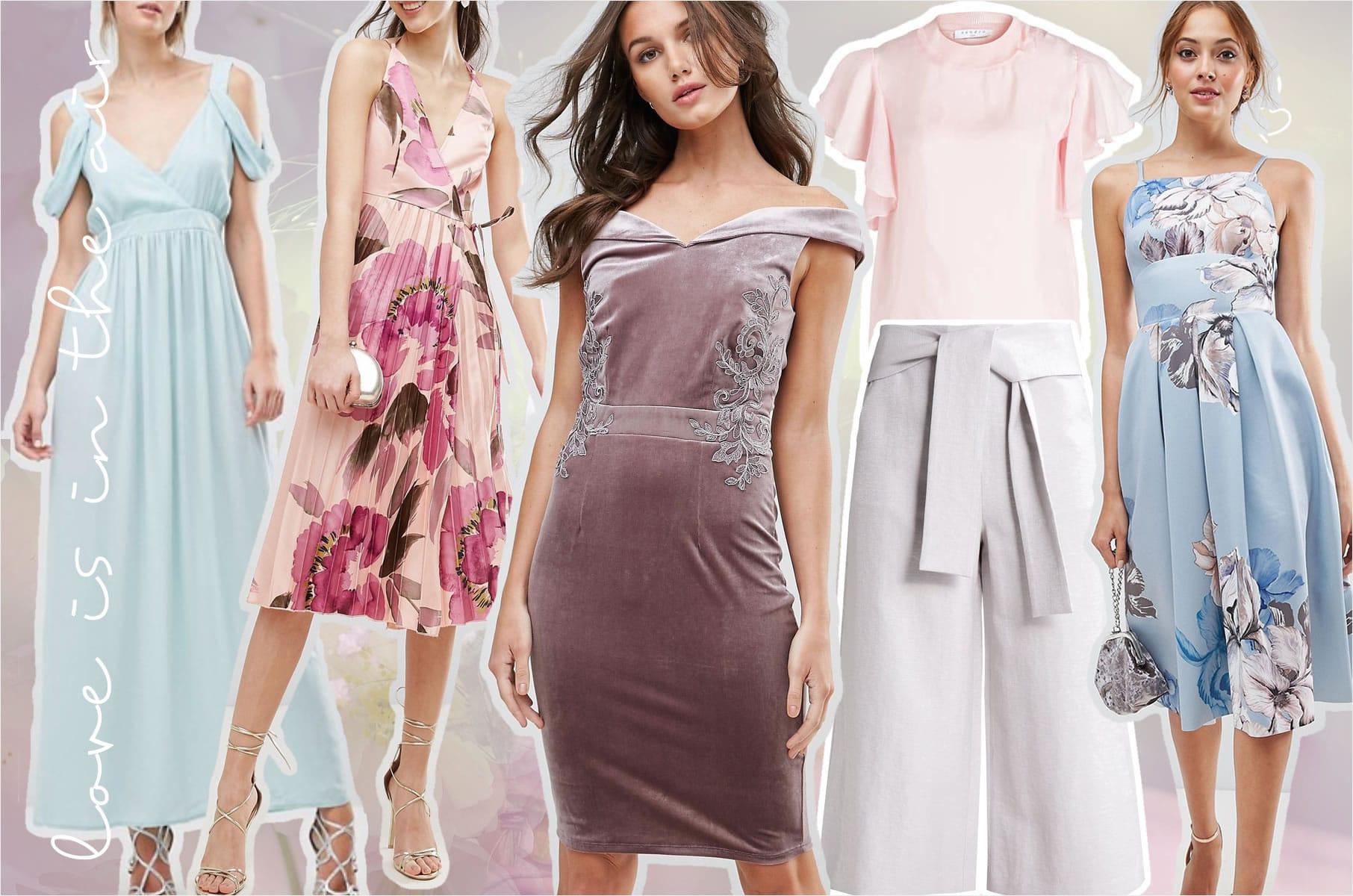 Perfekt Gestylt - 4 Outfit-Ideen Für Hochzeitsgäste
