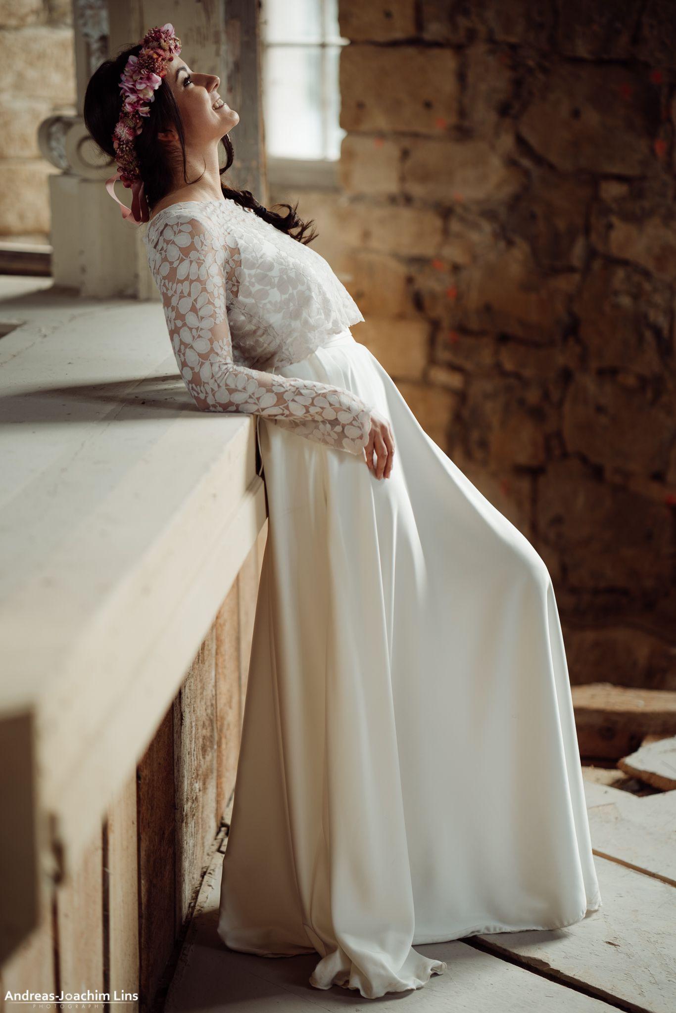 Pin Auf Brautkleider, Hochzeitskleider Und Zweiteiler Mit - Abendkleid