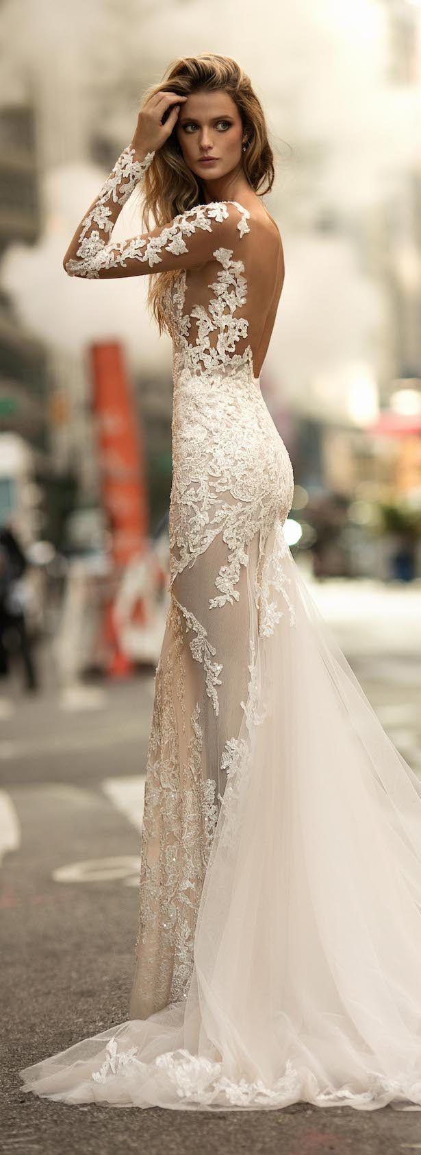 Pin Auf Hochzeitskleid Transparente Spitze