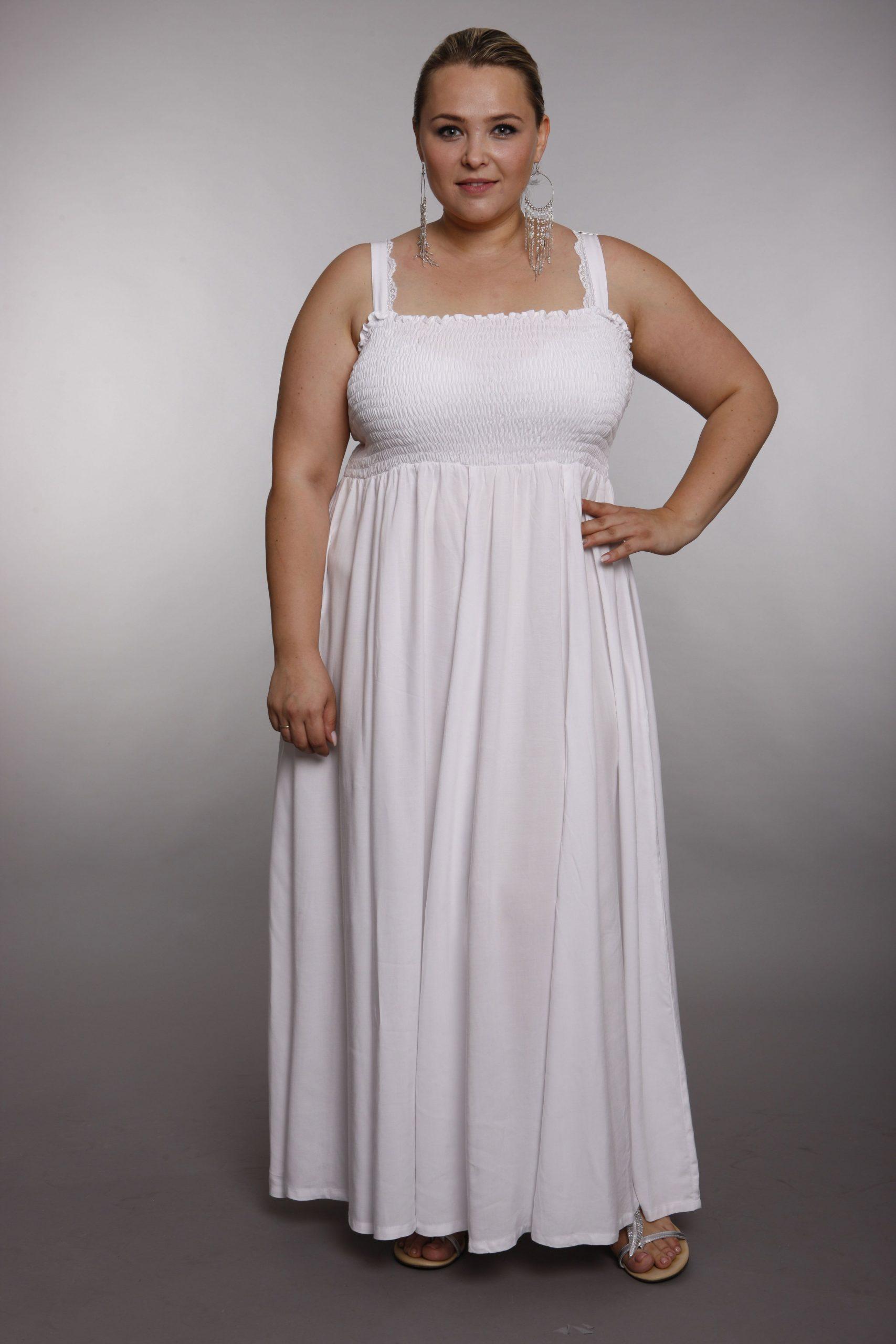festliche kleider für mollige zur hochzeit - abendkleid
