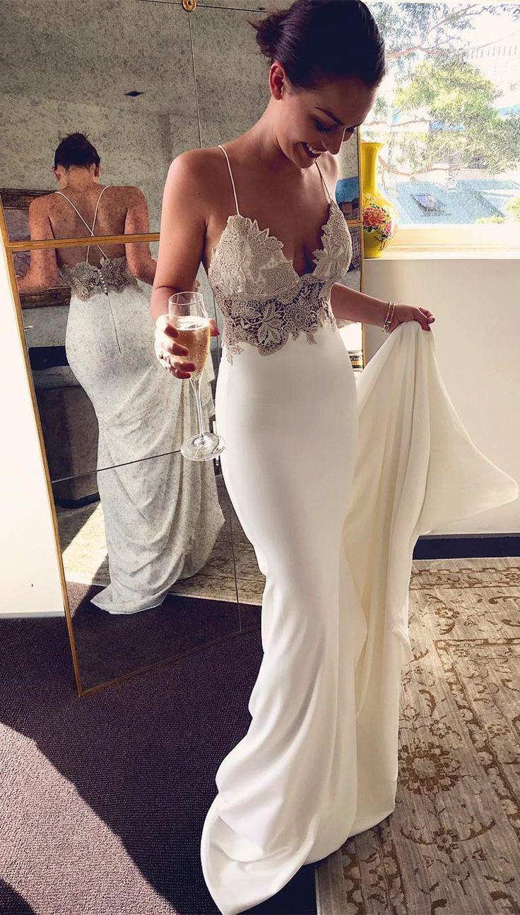 Pin Em Sommer Garten Hochzeits Kleider 2019