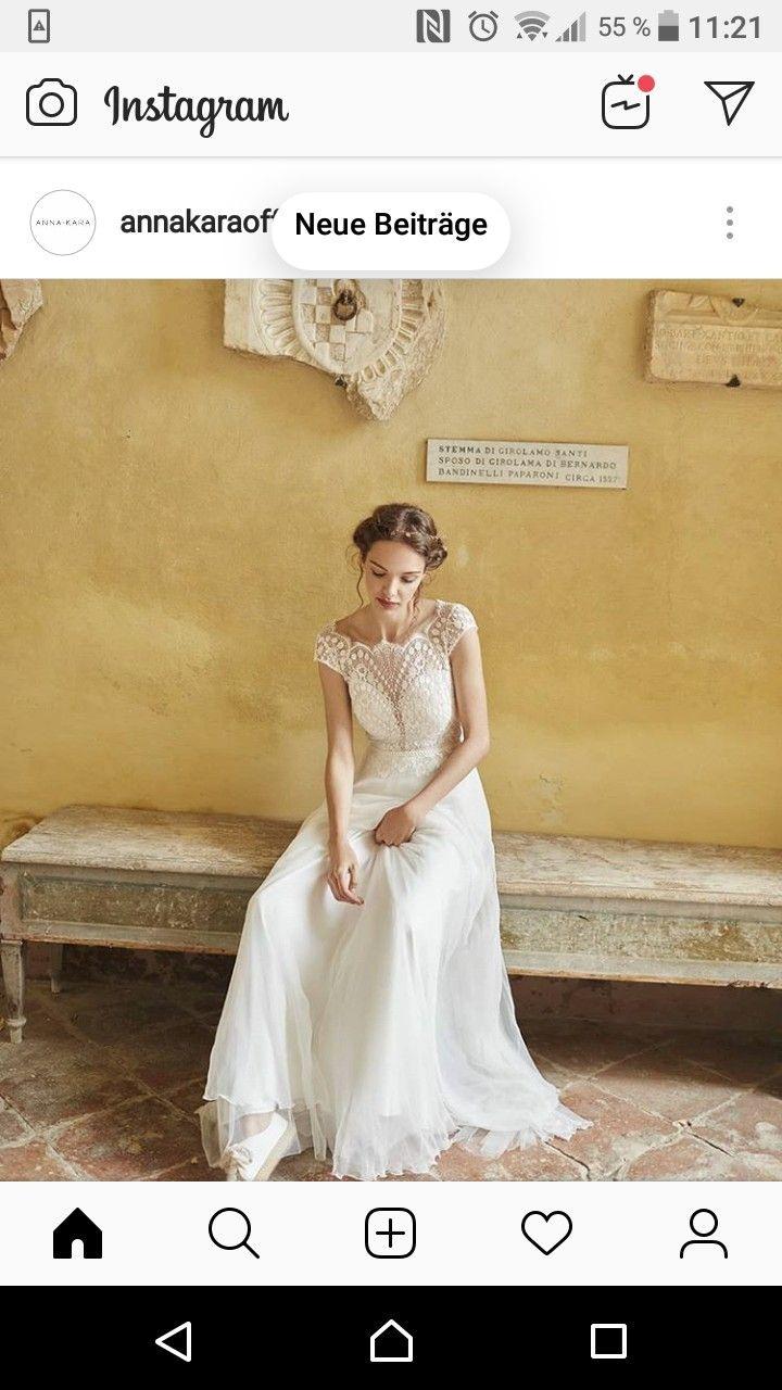 Pin Von Annika Katrin Auf White Wedding | Brautkleid Vintage