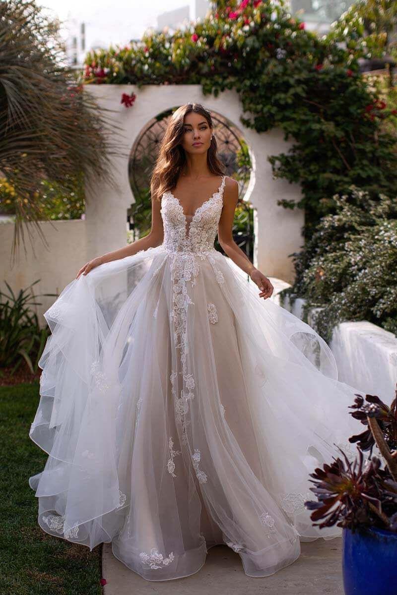 Pin Von Belinda Baruth Auf Wedding | Kleider Hochzeit, Kleid