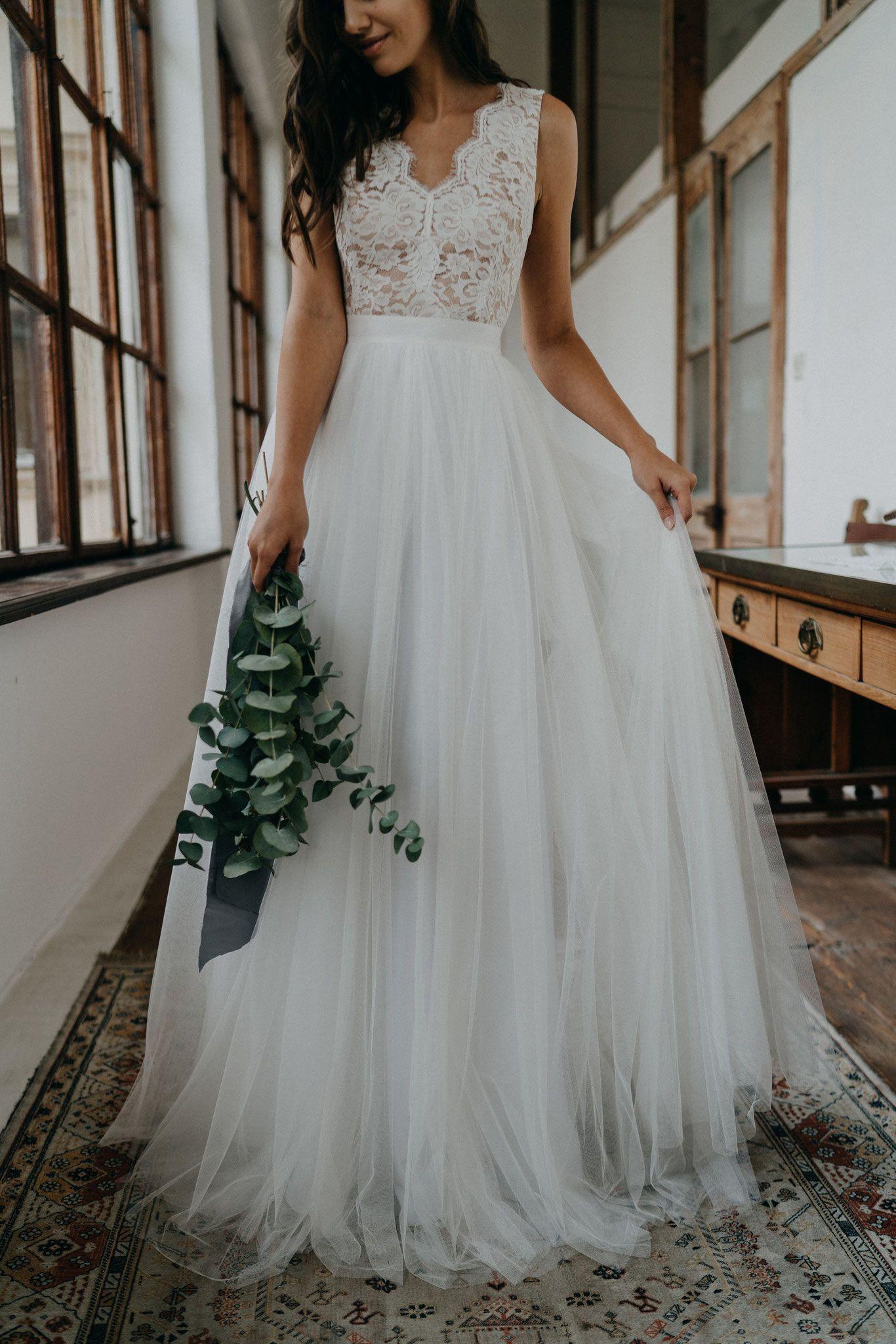 Pin Von Paul Otto Auf Hochzeit | Einzigartiger Brautkleid