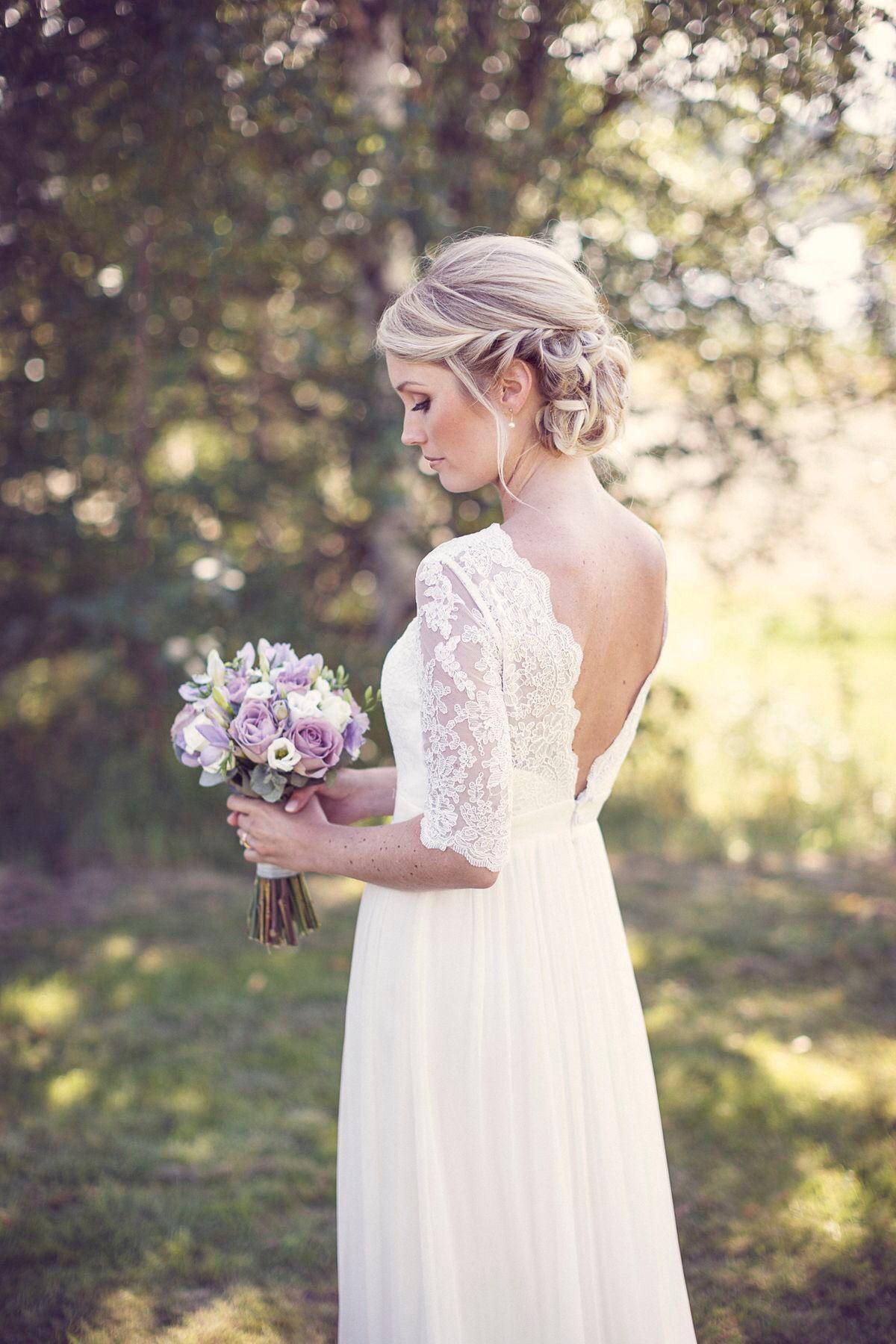 Pin Von Pixy Sunny Auf Платья | Hochsteckfrisuren Hochzeit