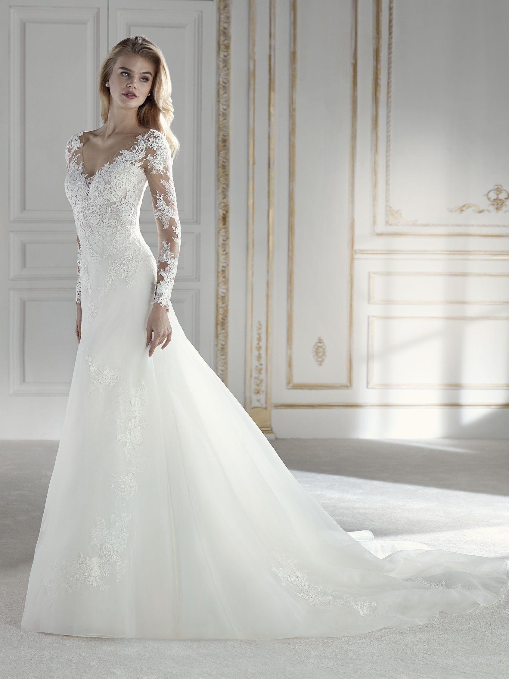 Pina Brautkleid Im Meerjungfrau-Stil  Meerjungfrauen Kleid