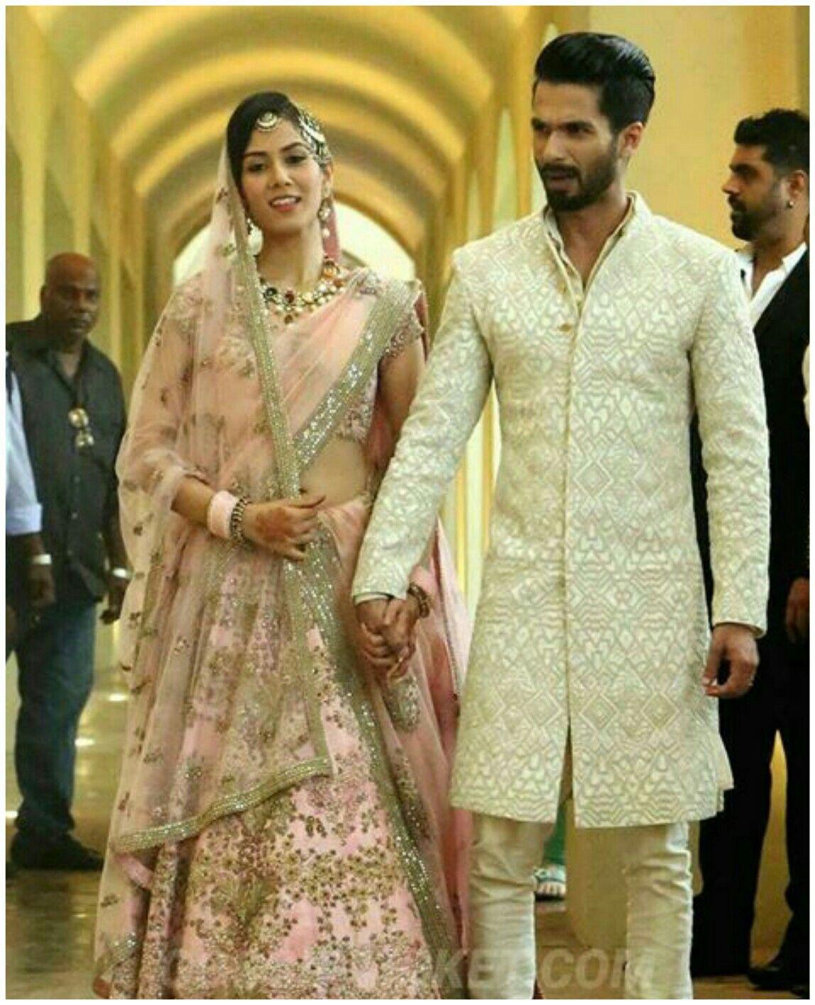 Pinnishara Ramsaroop On Mira Rajput | Groom Dress Men