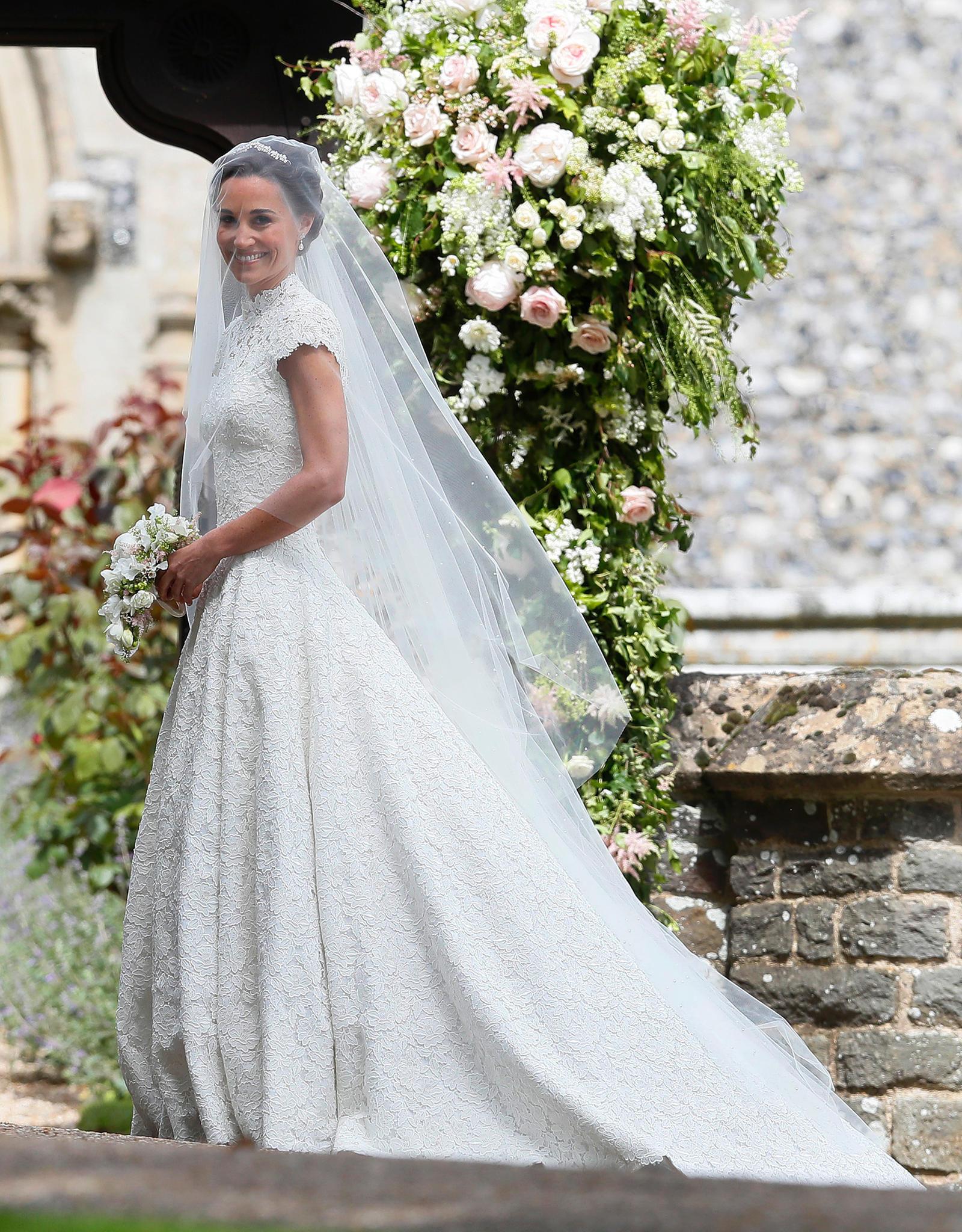 Pippa Middleton: Ihr Brautkleid Ist Von Giles Deacon | Gala.de