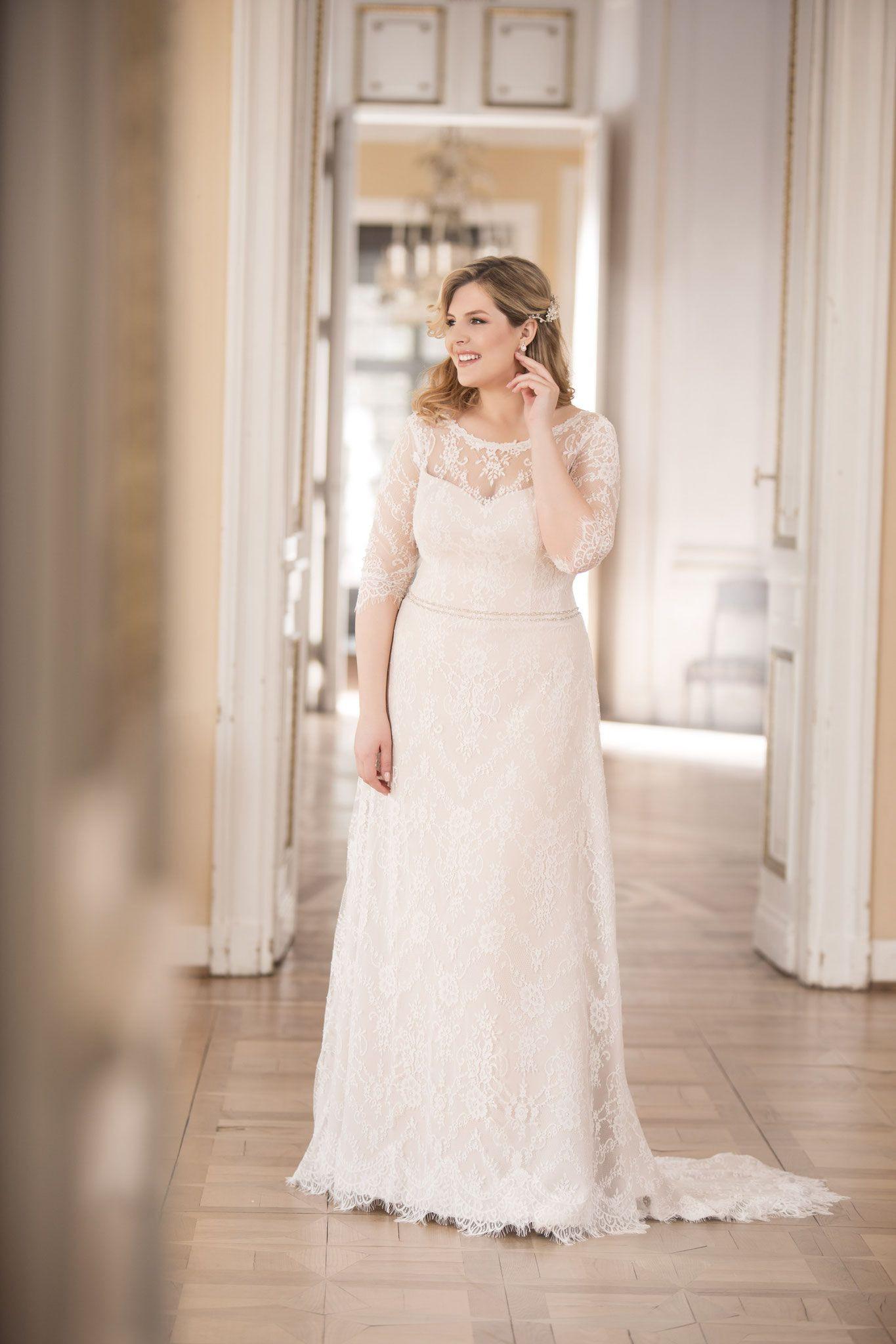 Plus Size 2017 Braut- U. Ballmode Übergröße Xl - Brautmoden