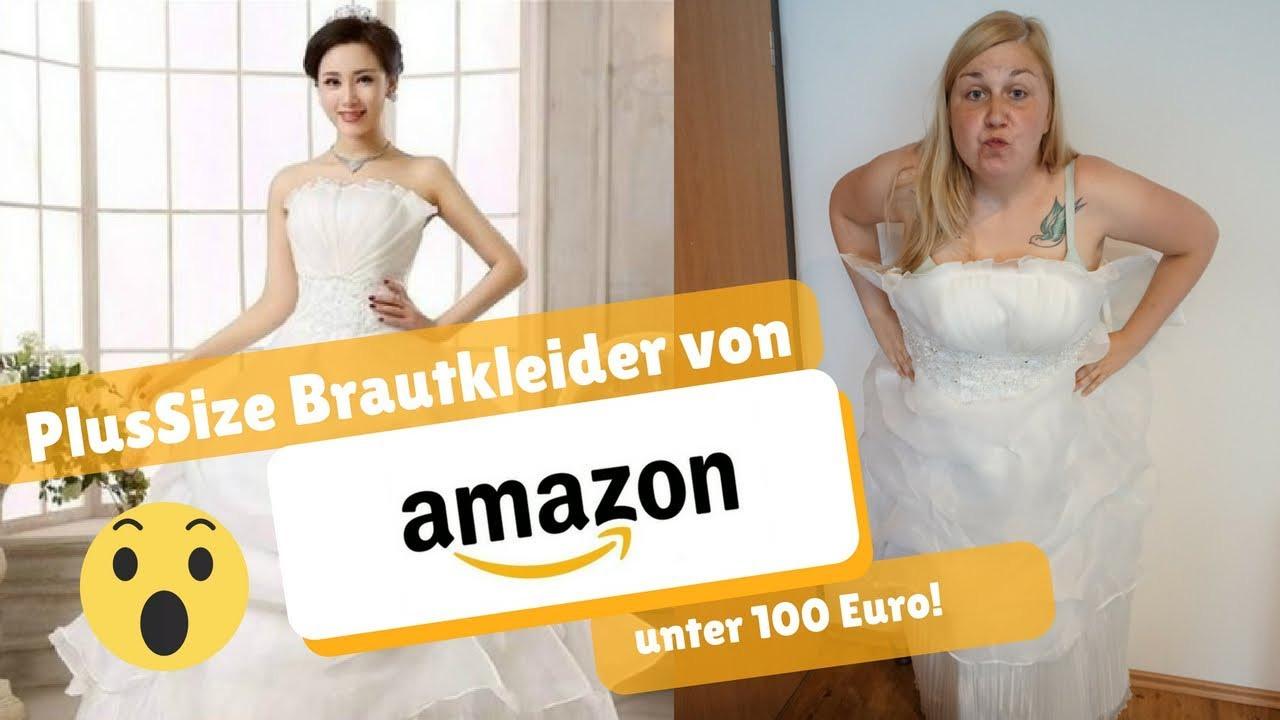Plussize Brautkleider Von Amazon I Ostfriesenmutti I Brautkleider Unter 100€