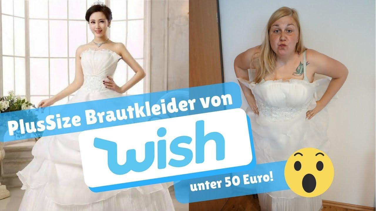 Plussize Brautkleider Von Wish I Ostfriesenmutti I Brautkleider Unter 40€