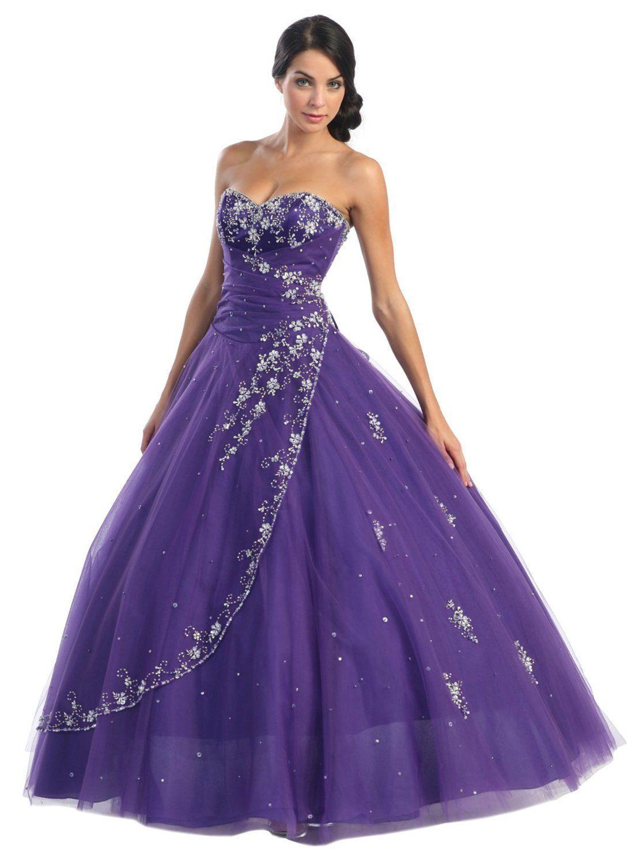 Pretty Purple Princess Dress | Lila Kleid Hochzeit
