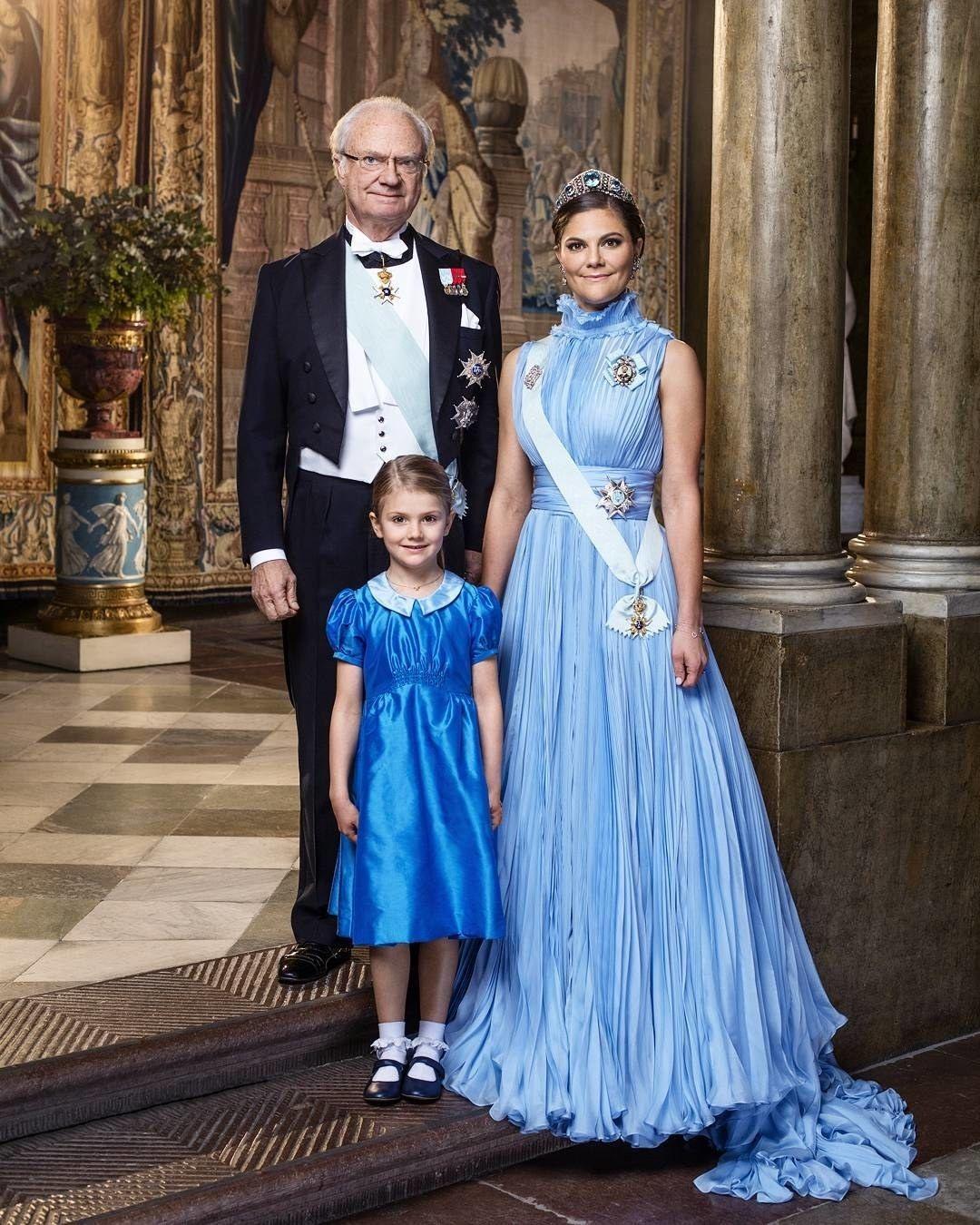 Prinzessin Estelle Und Victoria Von Schweden Im Süßen