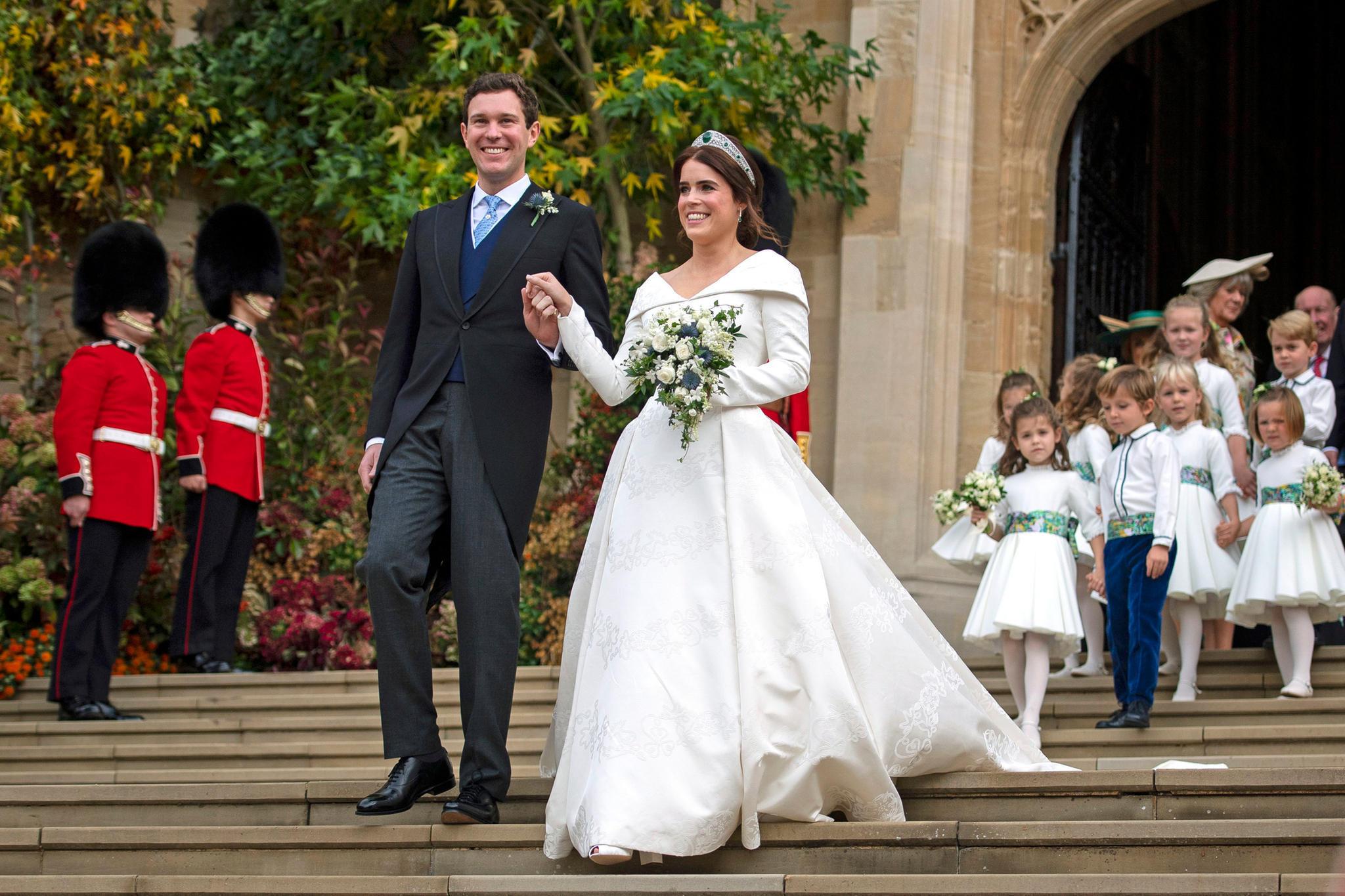 Prinzessin Eugenie: Das Passierte Mit Ihrem Brautstrauß