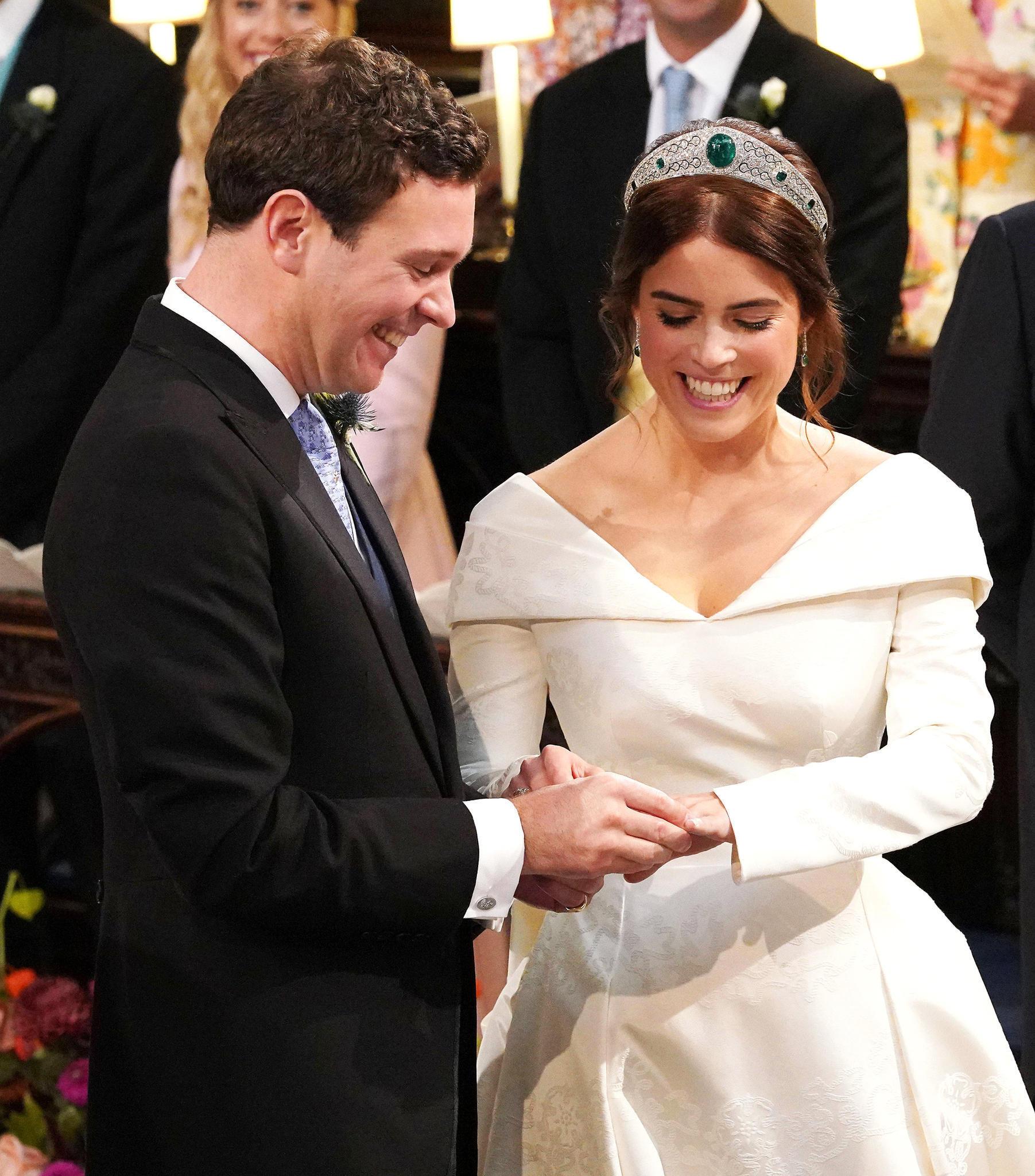 Prinzessin Eugenie + Jack Brooksbank: Ihre Hochzeit Im Live