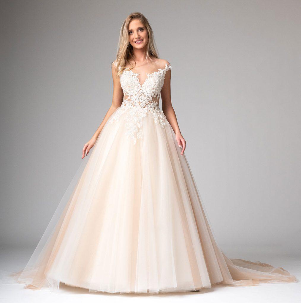 Prinzessin Hochzeitskleid Mit Viel Tüll Maßanfertigung - Abendkleid