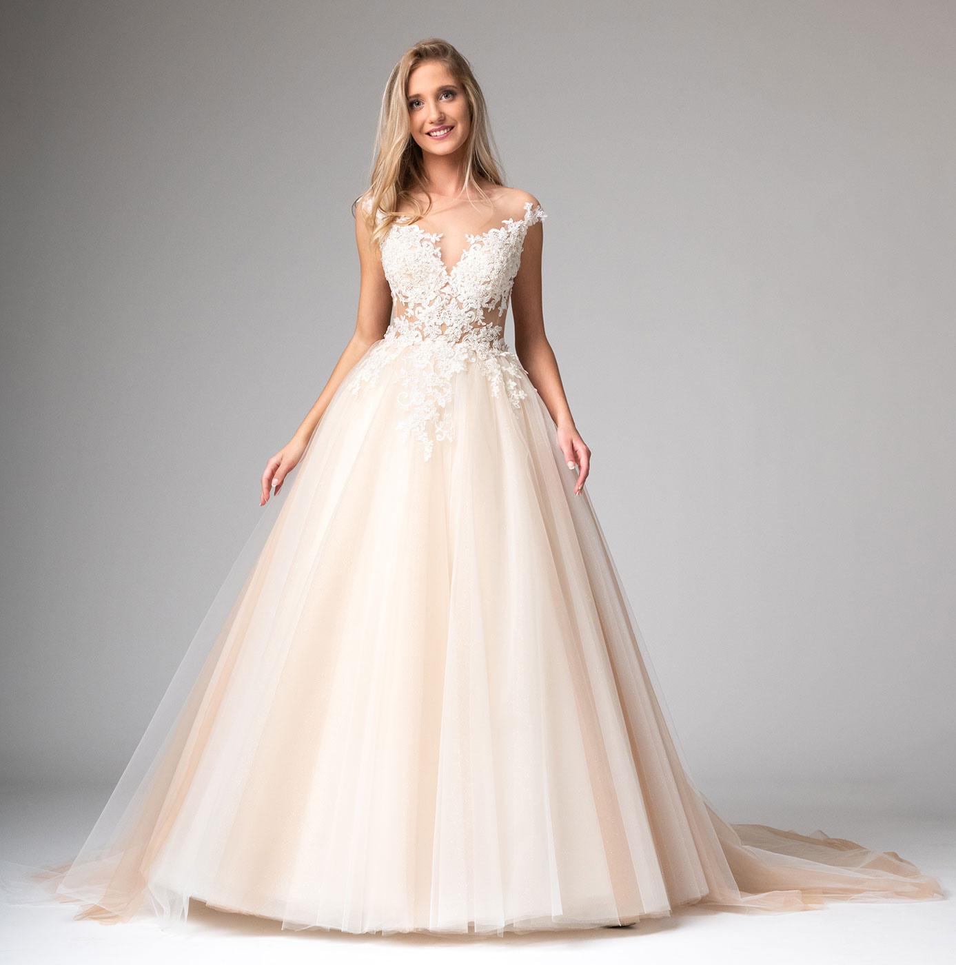 Prinzessin Hochzeitskleid Mit Viel Tüll Maßanfertigung