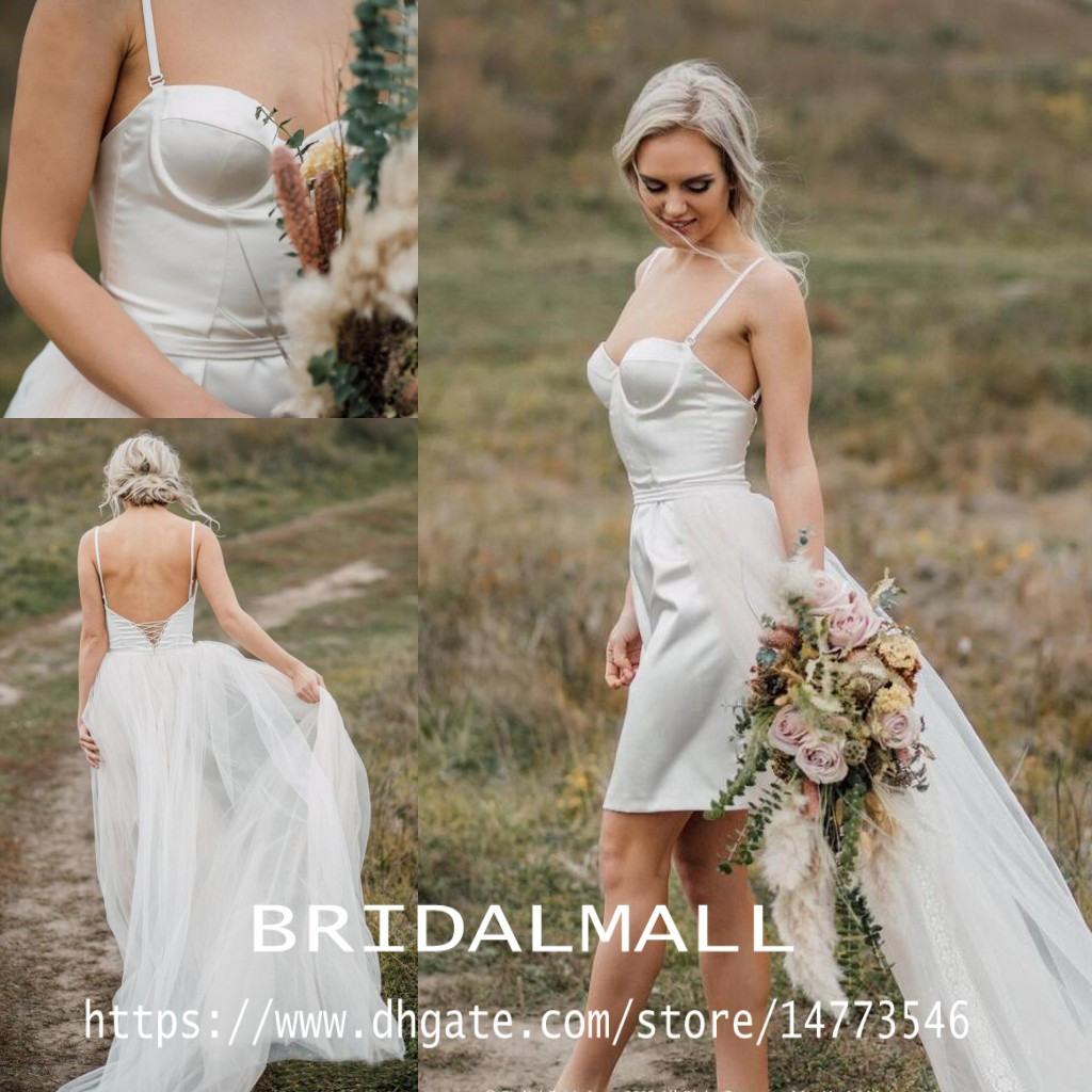 Rabatt Sexy Kurzer Kleid Für Hochzeit | 2020 Sexy Kurzer