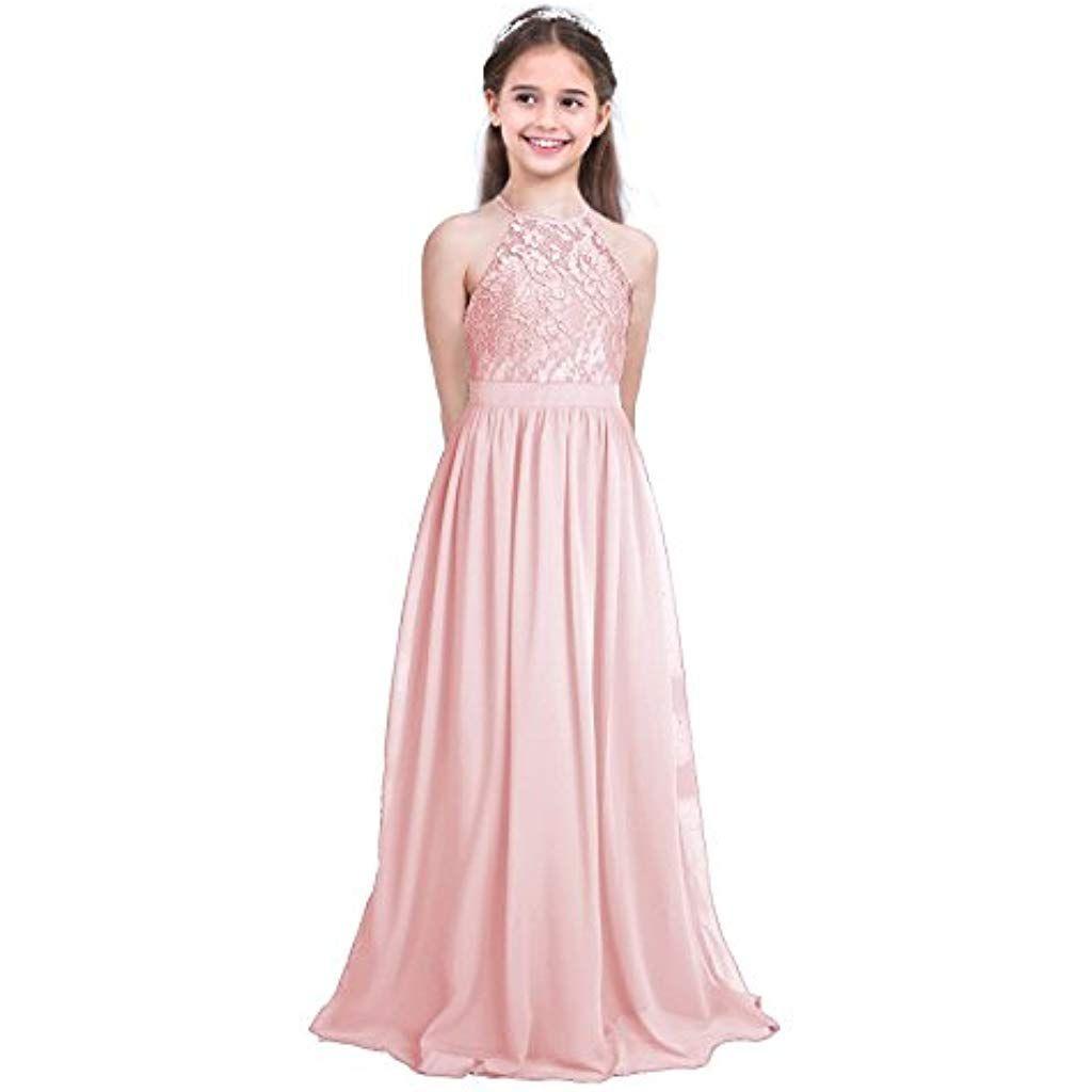 Ranrann Festlich Mädchen Kleid Für Kinder Prinzessin Spitzen