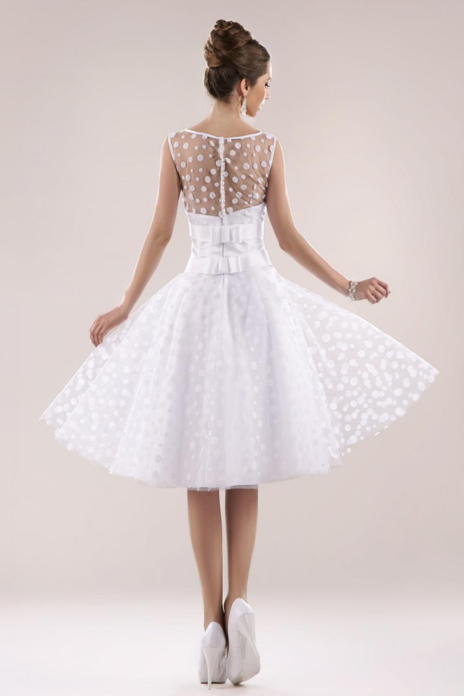 Rockabilly Brautkleid Mit Punkten Maßanfertigung
