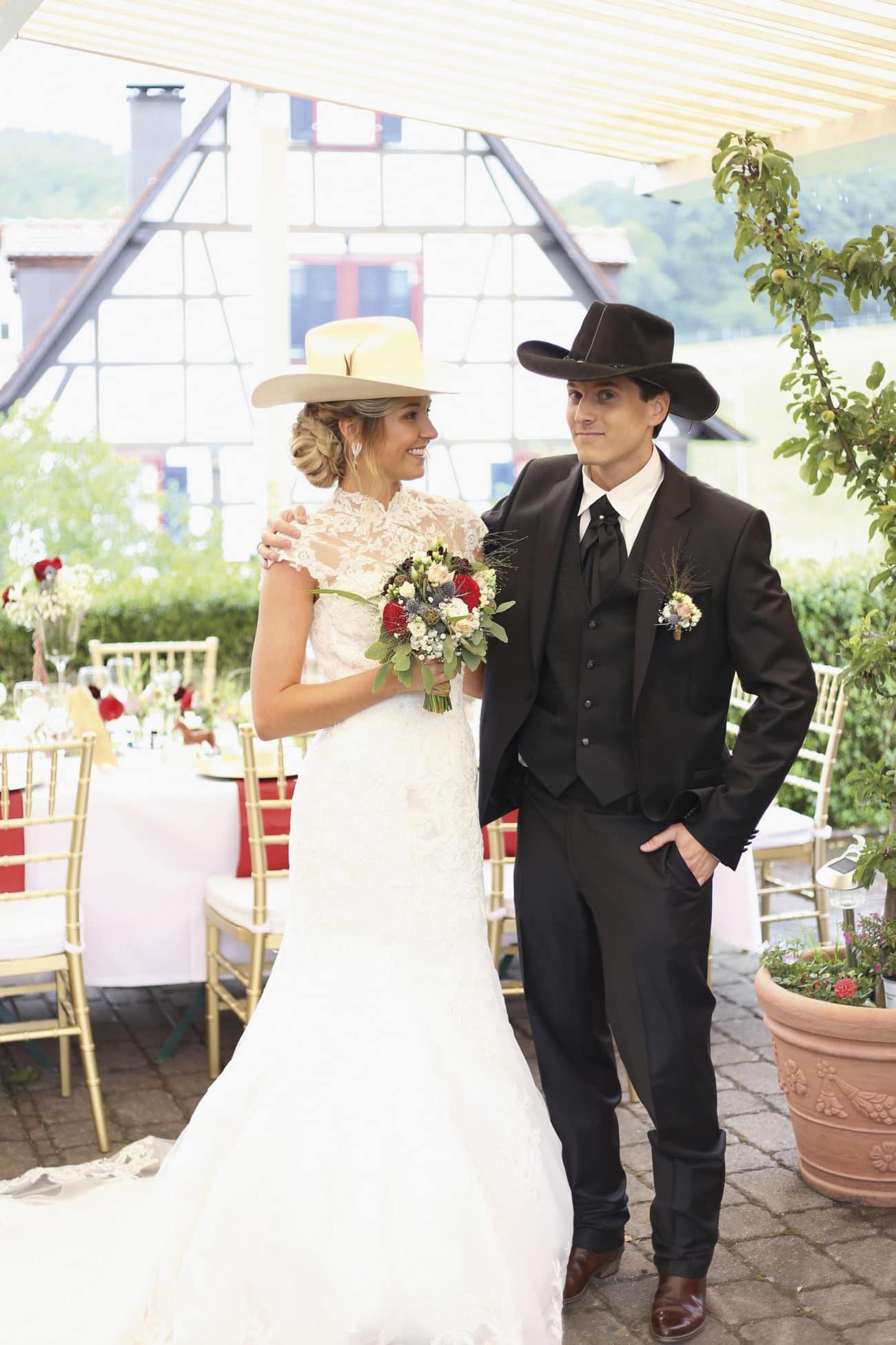 Romantische Country Hochzeit Im Western Stil - Heiraten