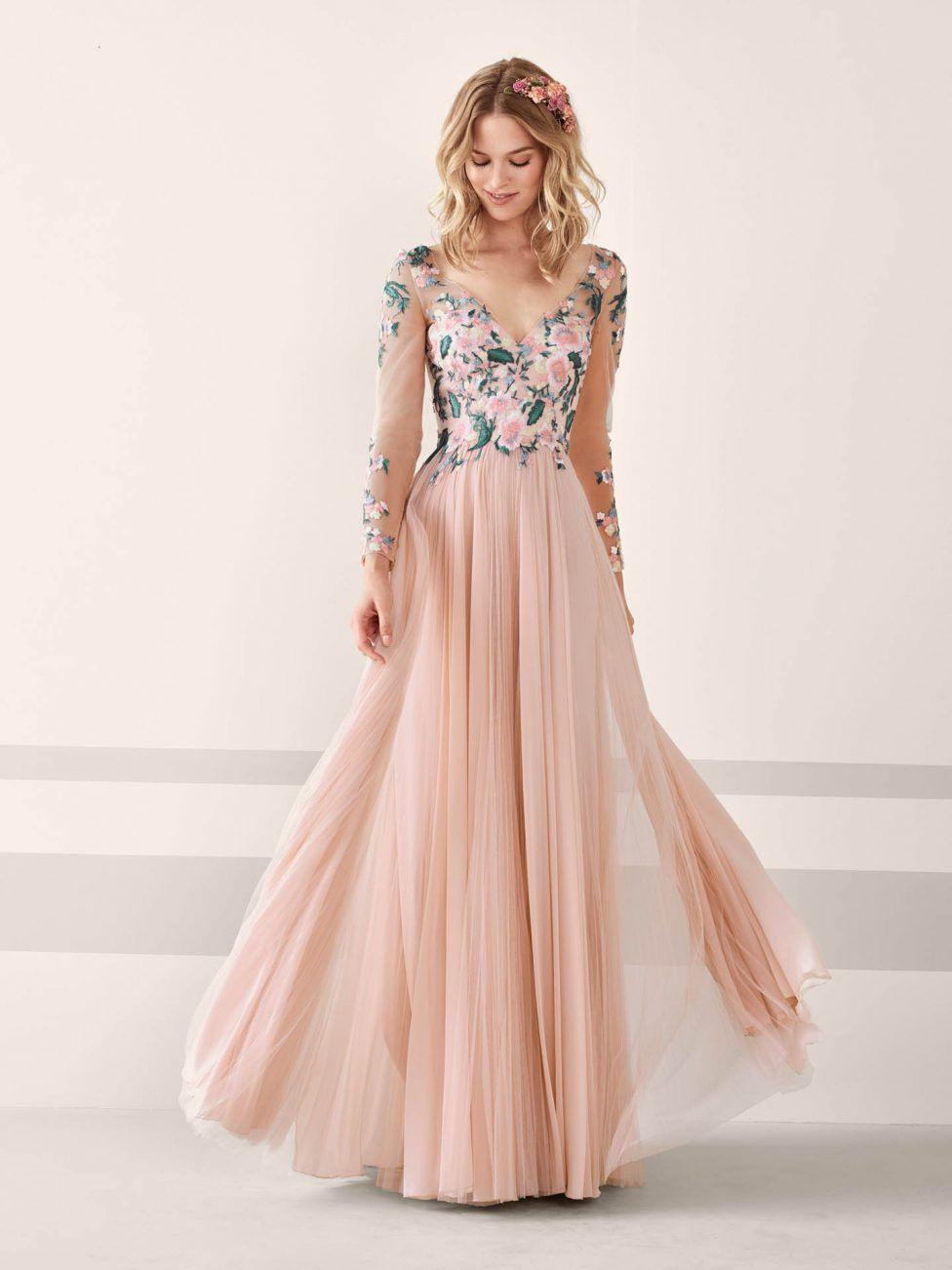 Festliche Kleider Zur Hochzeit Für Gäste Lang - Abendkleid