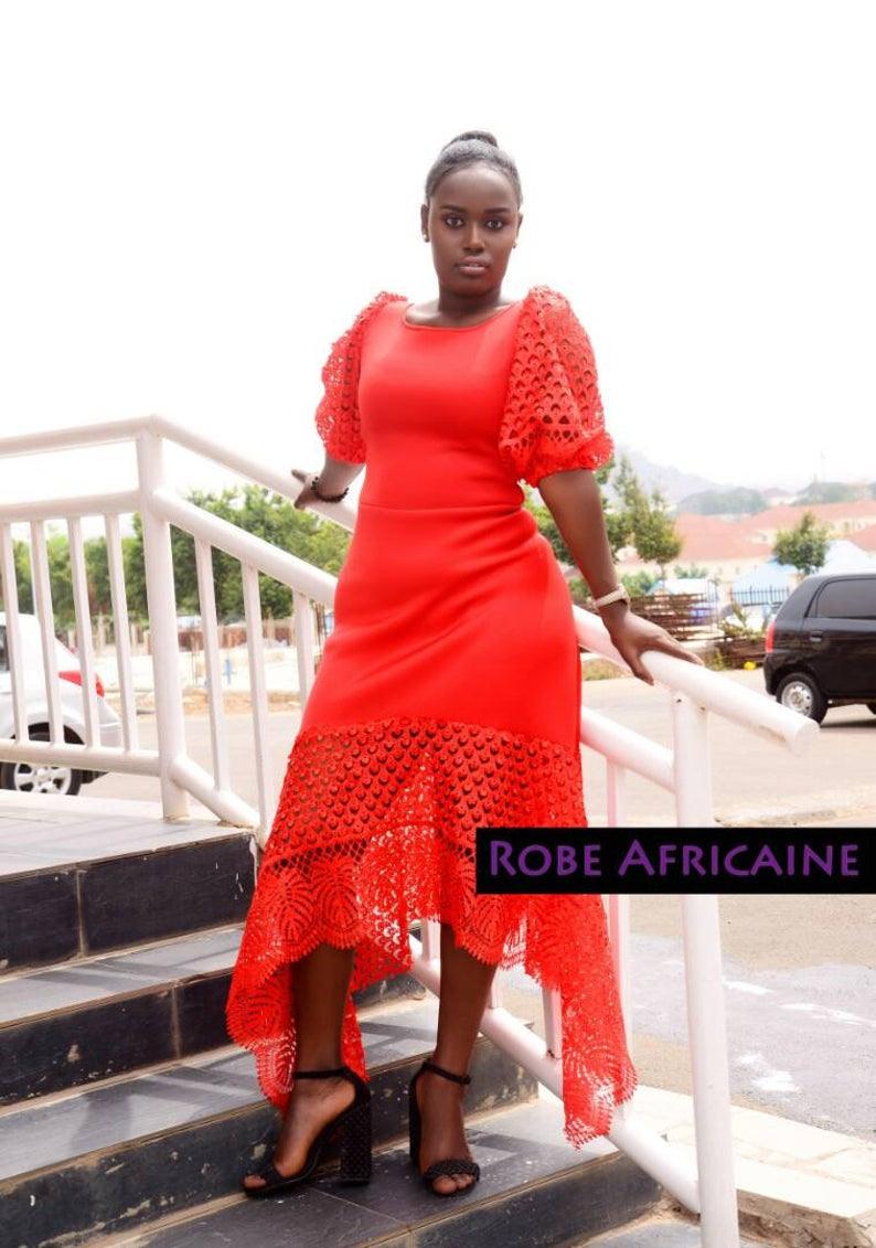 Roten Kleid, Rot, Kleid, Cocktail Kleid/party Kleid, Kleider, Spitze, Prom  Kleid/high Low/burgund/lange Kleid/abend Kleid/afrikanischen Kleid