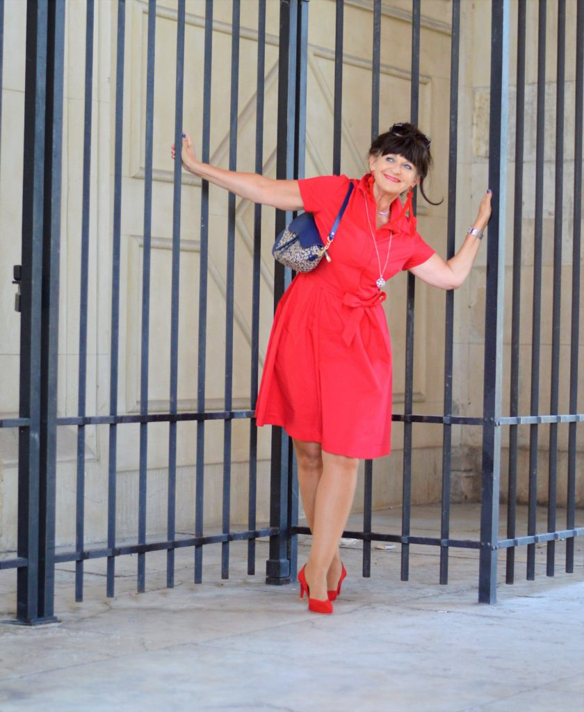 Rotes Kleid Archive - Martina Berg - Lady 50Plus