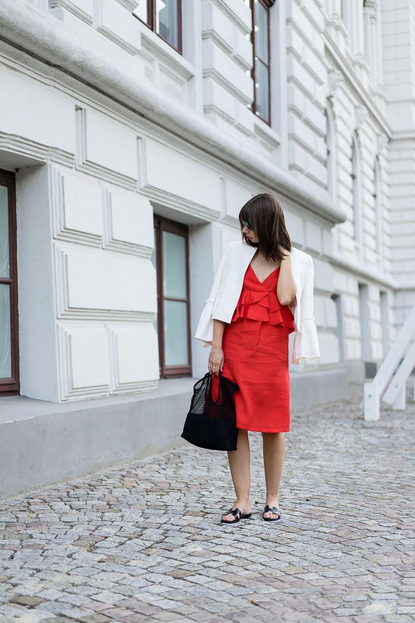 Rotes Kleid Kombinieren Hochzeit - Abendkleid