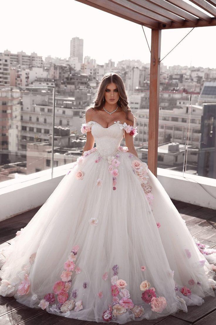 Kleider Hochzeit Prinzessin - Abendkleid