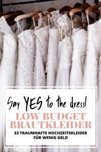 Say Yes To The Dress: Schöne Low Budget-Brautkleider Unter