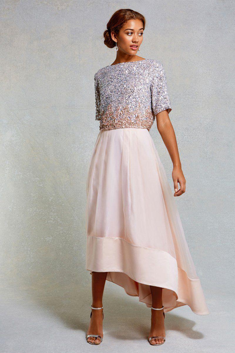 Schicke Kleider Für Eine Hochzeit   Платья Подружек Невесты