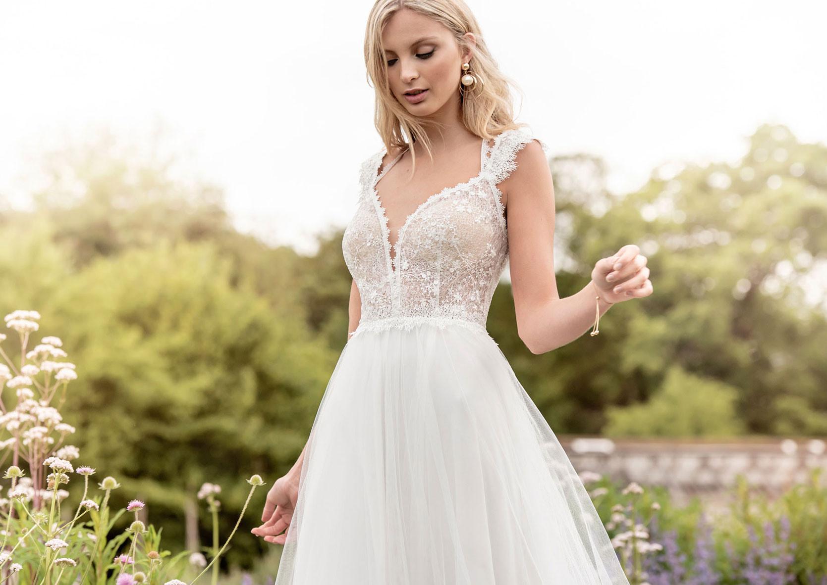 Schlichte Brautkleider | Schlichte Hochzeitskleider Elegant