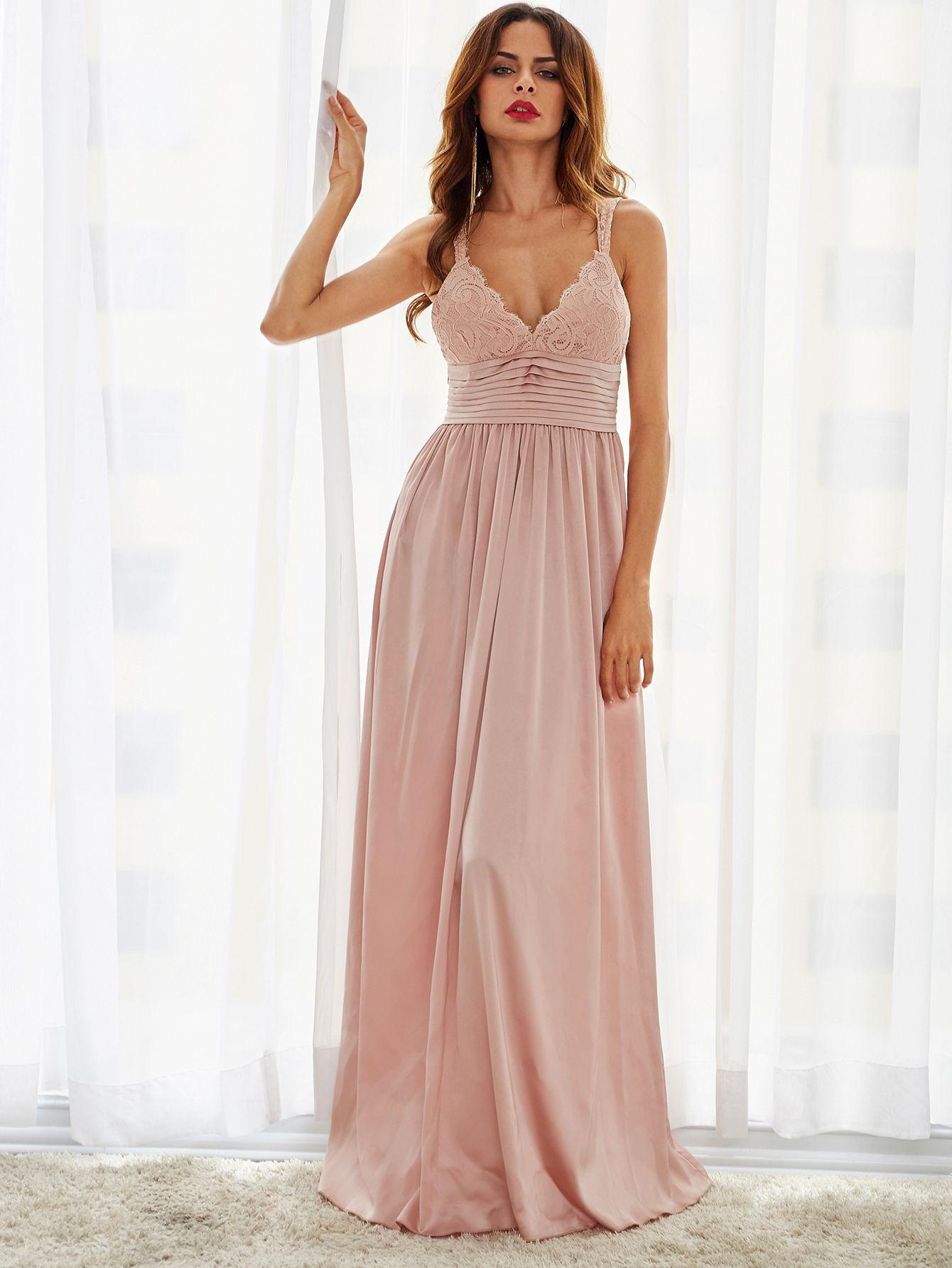 Schön Abendkleider Shein Vertrieb - Abendkleid