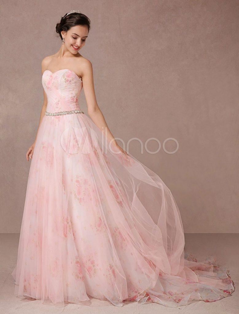 Schön Kleider Für Hochzeitsgäste Rosa Design - Abendkleid