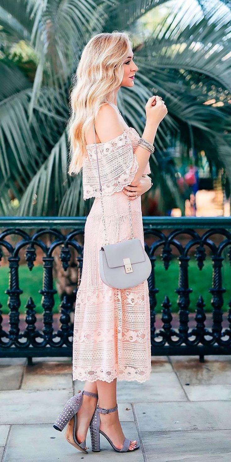 Schöne Frühling Hochzeitsgast Kleid Ideen 19, #beautiful