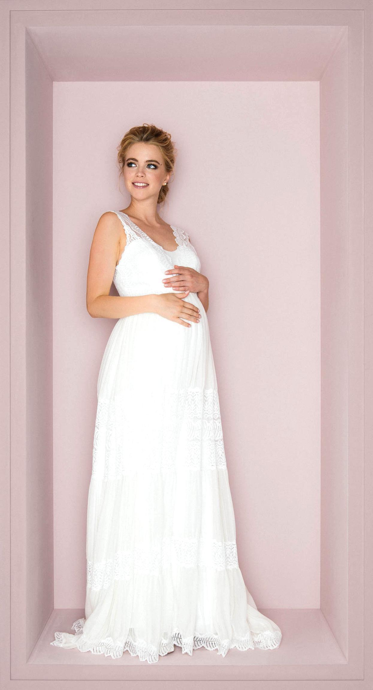 Schwangerschafts Hochzeitskleid Gebraucht Kaufen! Nur 2 St