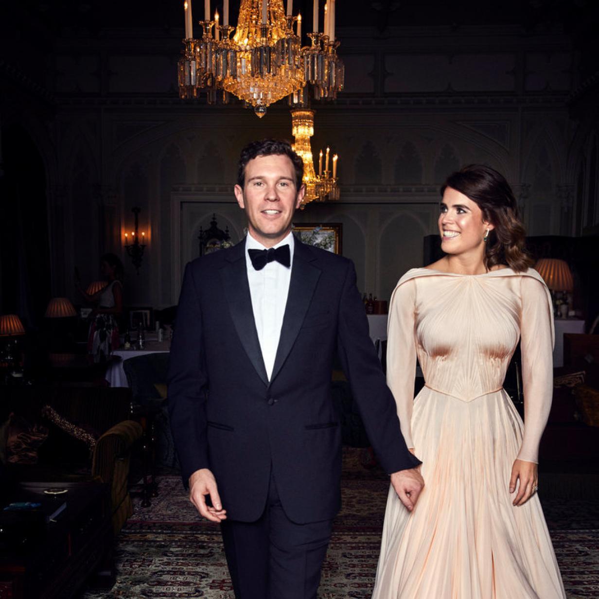 So Schön Strahlte Eugenie In Ihrem Zweiten Hochzeitskleid