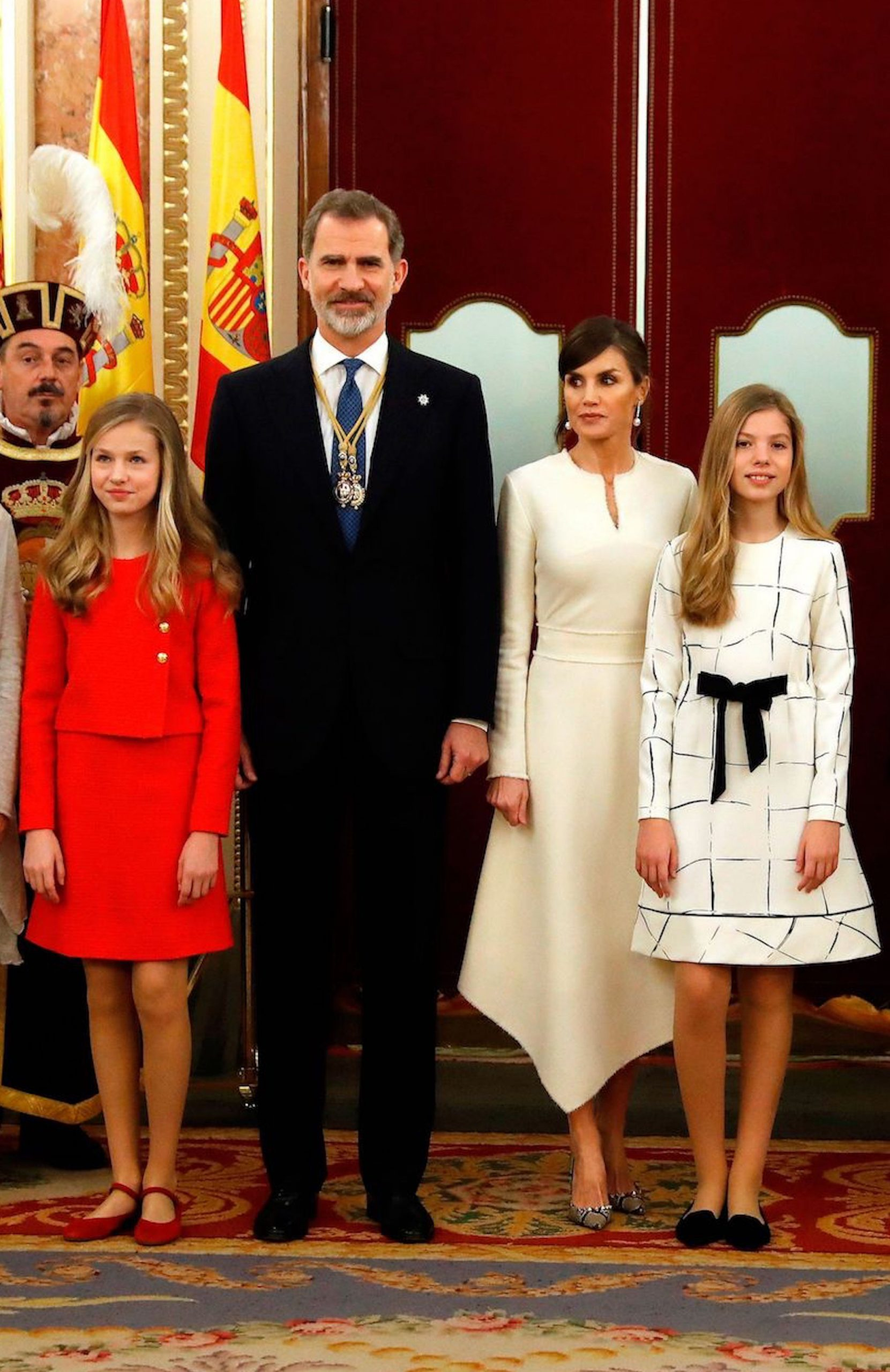 So Sehen Letizias Töchter Heute Aus   Stylebook