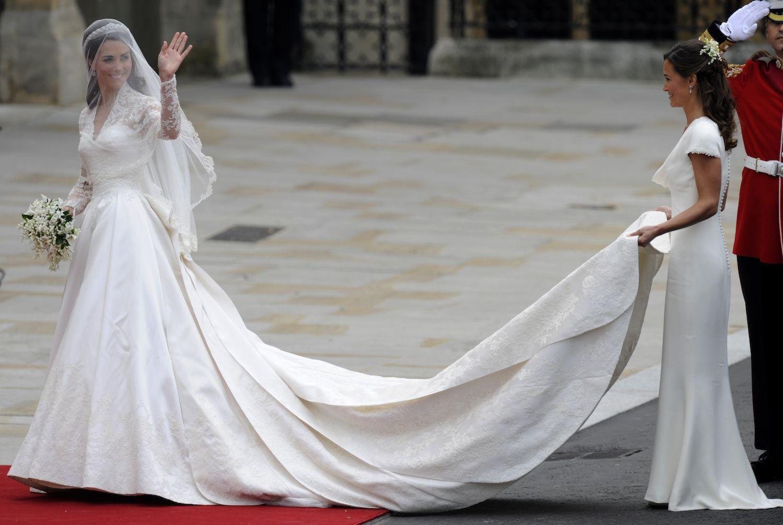So Süß Sind Kate Und Pippa Als Brautjungfern | Kate