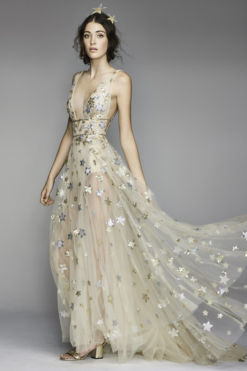 Starry Wedding Dresses That Are Out Of This World In 2020