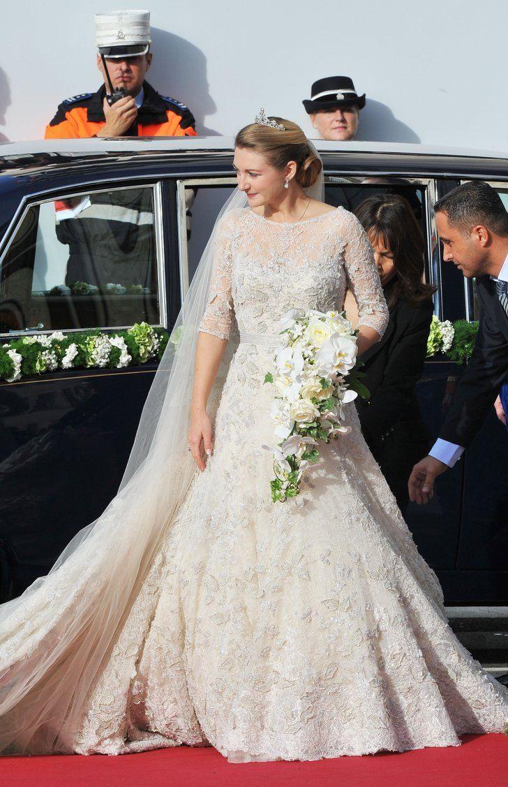Stephanie Von Luxemburg, 2012 | Berühmte Hochzeitskleider