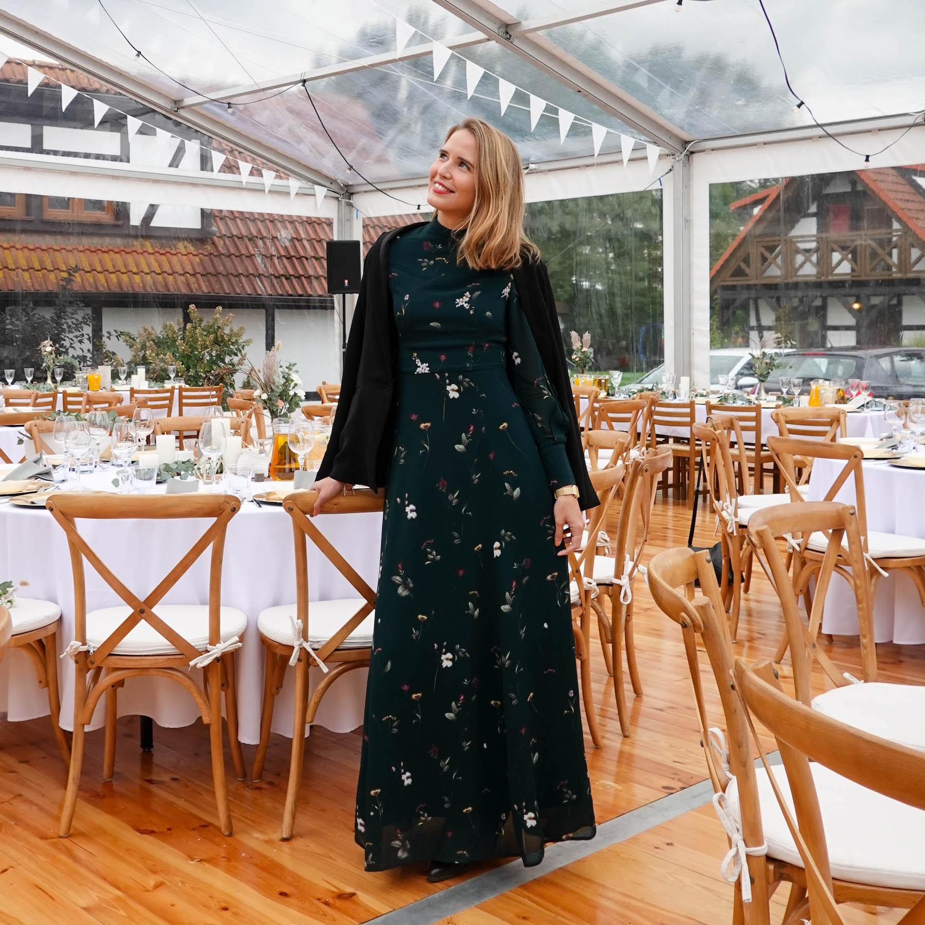 Suelovesnyc   Hochzeitsgast-Kleid Für Den Herbst Und Winter