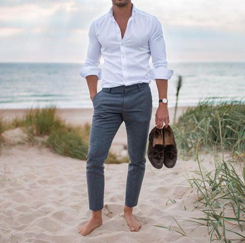 Sommerhochzeit männer outfit Das richtige